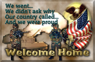 Welcome home, Vets!